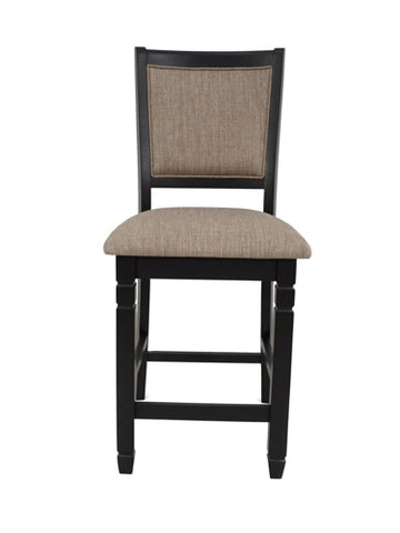 Prairie Point Black Counter Chair