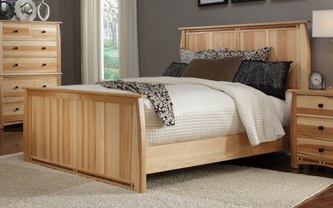 Adamstown Hickory + Walnut King Bed