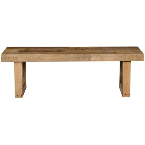 Omni Natural Wood Bench