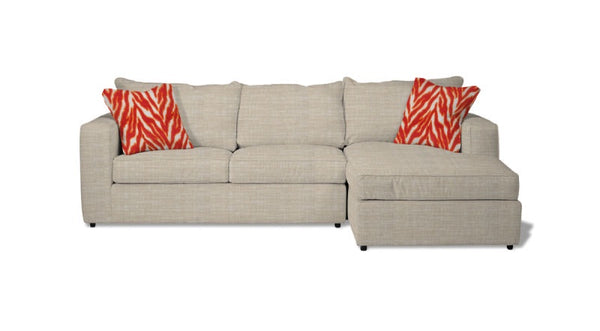 Milford  Long Sofa Bed - Pillow Back Style