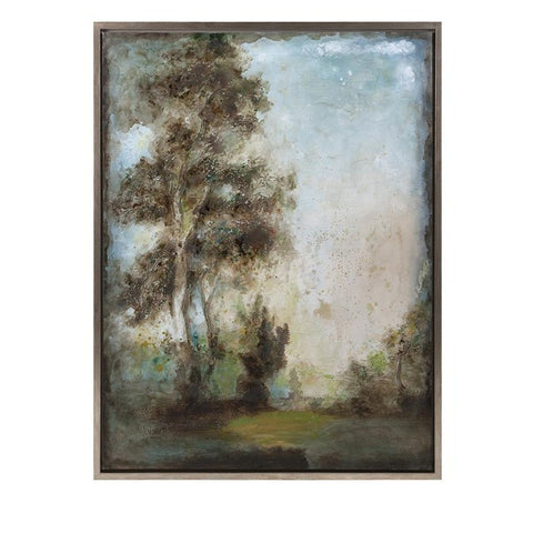 Harmonious Framed Oil Painting FLOOR MODEL