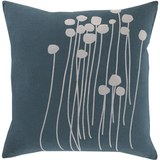 Abo Blue Pillow 22x22