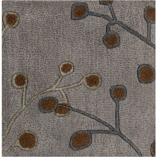 Athena Rug - Gray + Brown