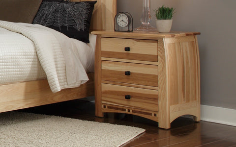 Adamstown Hickory + Walnut Nightstand