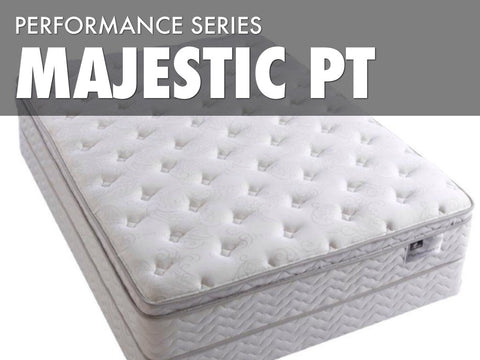 Majestic Pillow Top Mattress Set