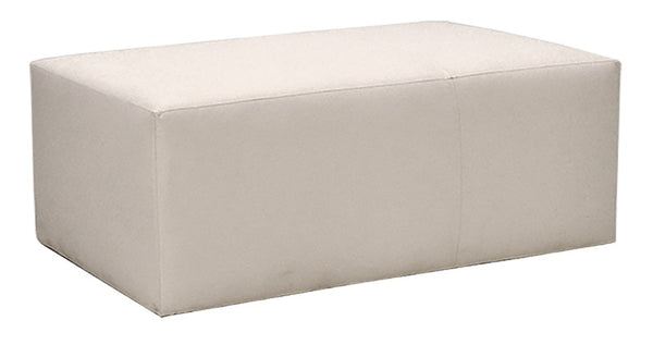 Quinn Solid Top Rectangular Ottoman