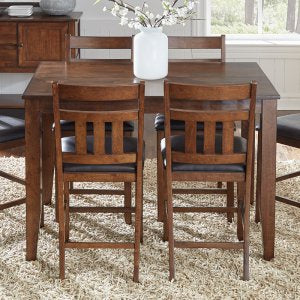 MASON SQUARE GATHERING HT DINING TABLE