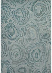 National Geographic Home Collection Blue Haze Mineral Blue Rug 5' x 8'