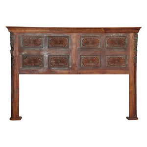 Anglo-Indian Antique Door made into a King size Headboard 18/1