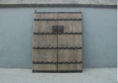 Antique Chinese Elm Shanxi Door 87 x 36 x 2