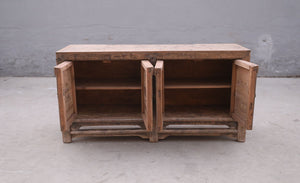 Antique Chinese pine cabinet 2