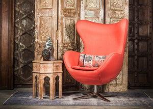 SHE-066 Egg Chair in Choral Wool SHO-20