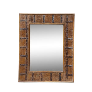 Indian Reclaimed Teak Frame with Mirror