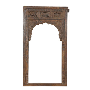 Antique Indian Carved teak archway