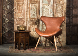 CHE-413 Capri Chair in Brown PU Leather TX4205