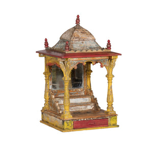 "Antique Indian ""Mandir"" or small temple/altar -6"