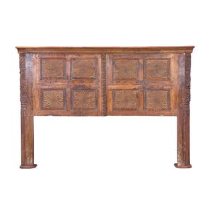 Anglo-Indian Antique Door made into King size Headboard