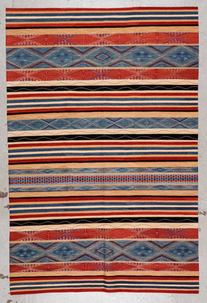 Modern Caucasian Style Verneh Rug, 5'10'' x 8'9''