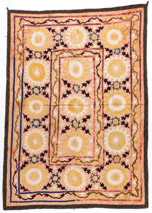 Antique Central Asian Suzani