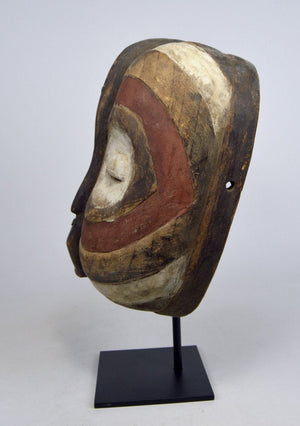 African Abstract Luba Kifwebe Society mask