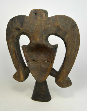 A Kwele Spirit of the Forest mask
