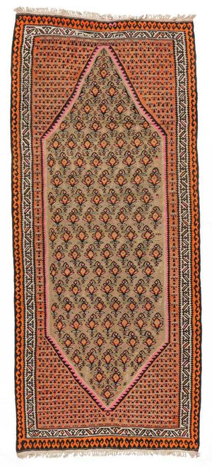 Semi-Antique Kilim, Persia, 4'2'' x 10'0''