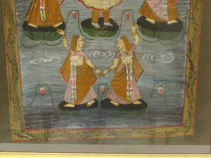 Indian School, Pichwai Painting on cloth