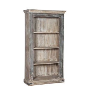 Bookcase, made from antique Indian architectural components