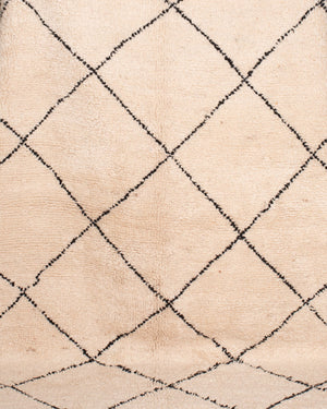 AVL ZC50-2 Moroccan Beni Ourain style rug, 10'3'' x 7'8''