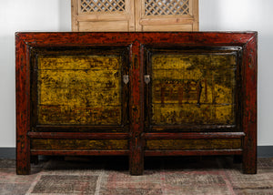 Antique Chinese Pine Shanxi Cabinet