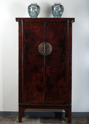 Antique Chinese Elm Armoire