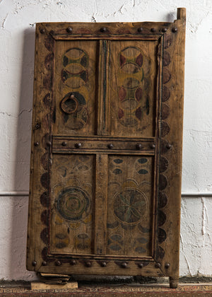 Antique Berber granary door