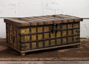 Antique Indian Blanket/Storage Chest