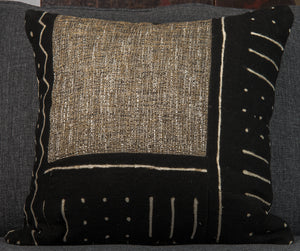 Vintage Mali Mud-cloth Pillow double-sided (b)