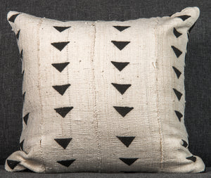 Vintage Mali Mud-cloth Pillow double-sided (a)