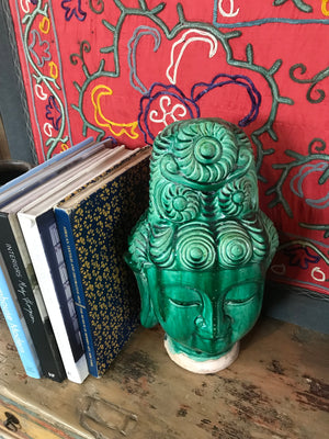 Chinese Ceramic Buddha Head