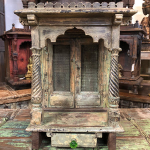 "Antique Indian ""Mandir"" or small temple/altar - 4"