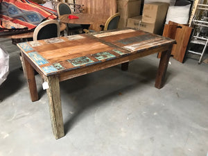 Indian Reclaimed Teak Dining Table