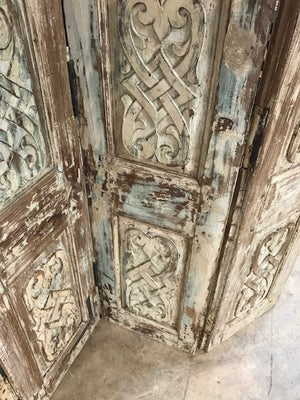 Indian Screen made from antique doors