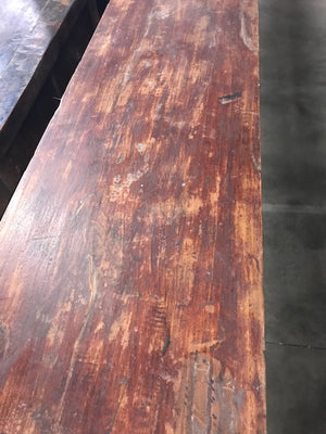Antique Chinese Carved Elm Altar Table