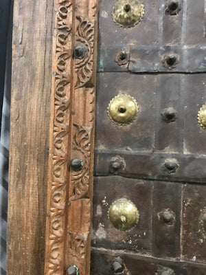 Antique Indian teak wood interior doors