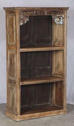 Indian Reclaimed Teak  Bookcase