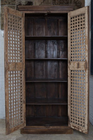 Armoire, made from antique Indian doors
