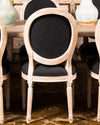 Set of 6+2 dining chairs