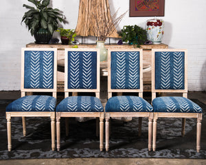 """Mali"" inspired dining chairs - set of 6"