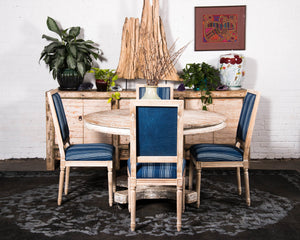 """Mali"" inspired dining chair, 6 available"