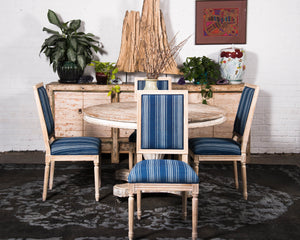 "Set of 6 ""Mali"" inspired dining chairs"