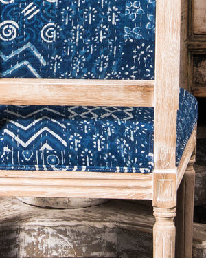 Kantha Patchwork dining chair, 6 available