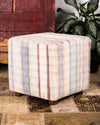 Recycled cotton ottoman