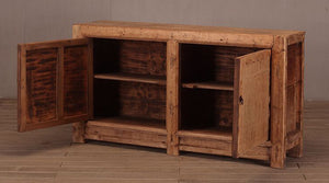 Antique Chinese Pine Cabinet